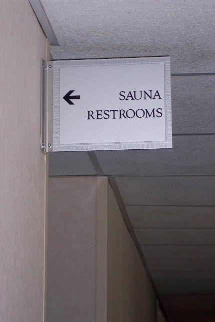 Renaissance Hotel Direction Signage