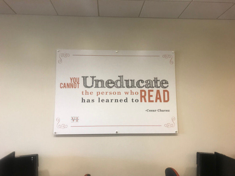 Motivational wall graphics in Whittier CA