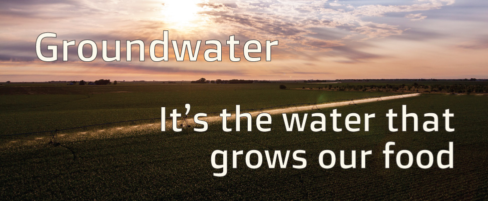 It's the water that grows our food