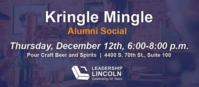 Kringle Mingle--Alumni Social