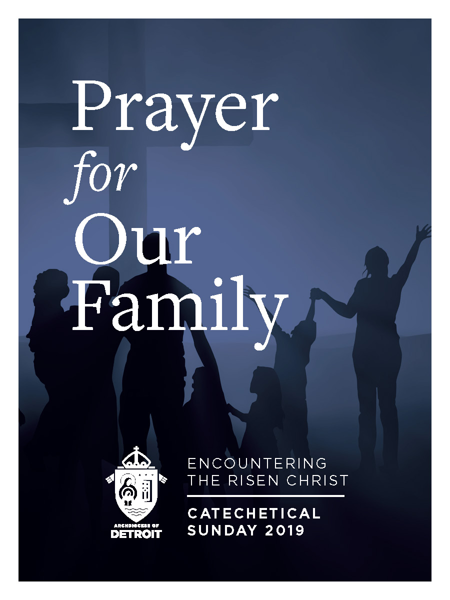 Catechetical Sunday Prayer Card - Prayer for Our Family