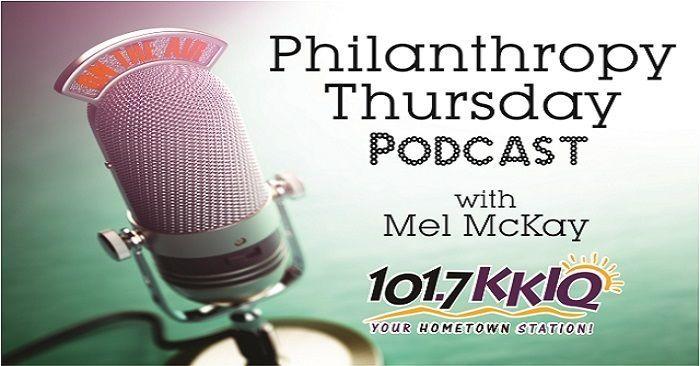 HFNC's Andrea Orozco talks Charity Golf with KKIQ Radio host Mel McKay