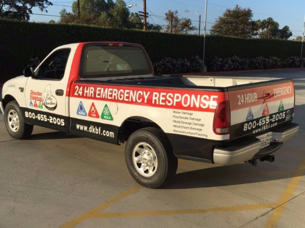 Fleet graphics for service businesses in Orange County CA