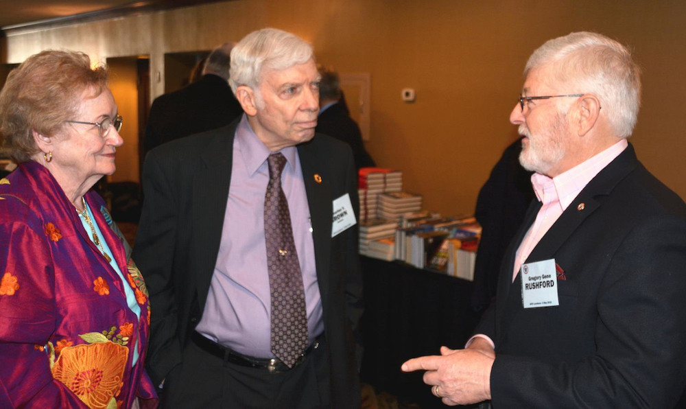 Lots of discussion at the 2015 AFIO Spring Luncheon