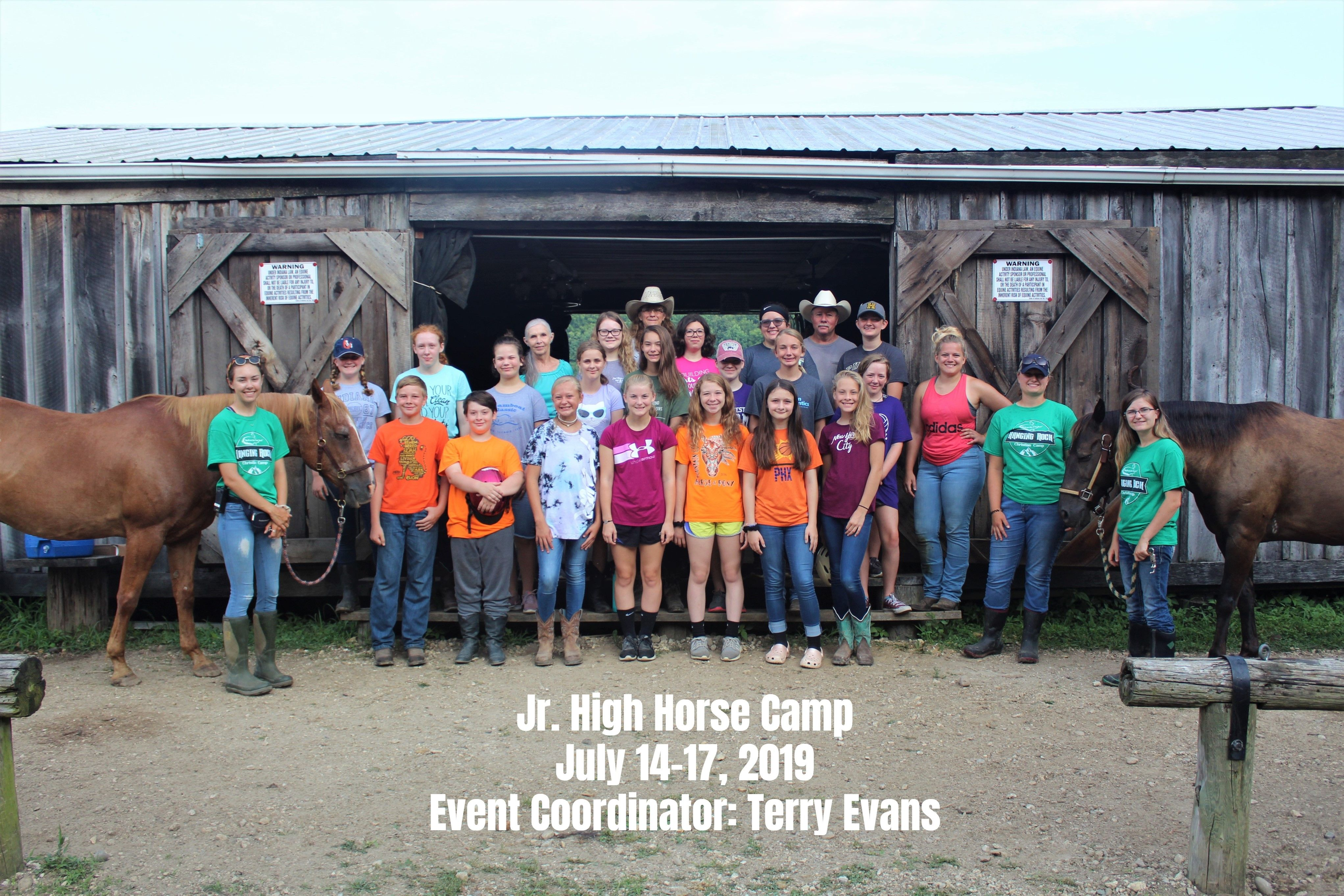 Jr. High Horse Camp