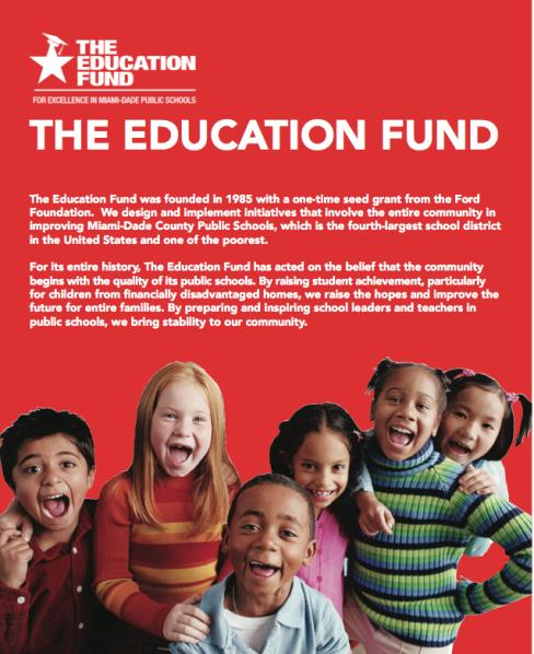 The Education Fund Brochure