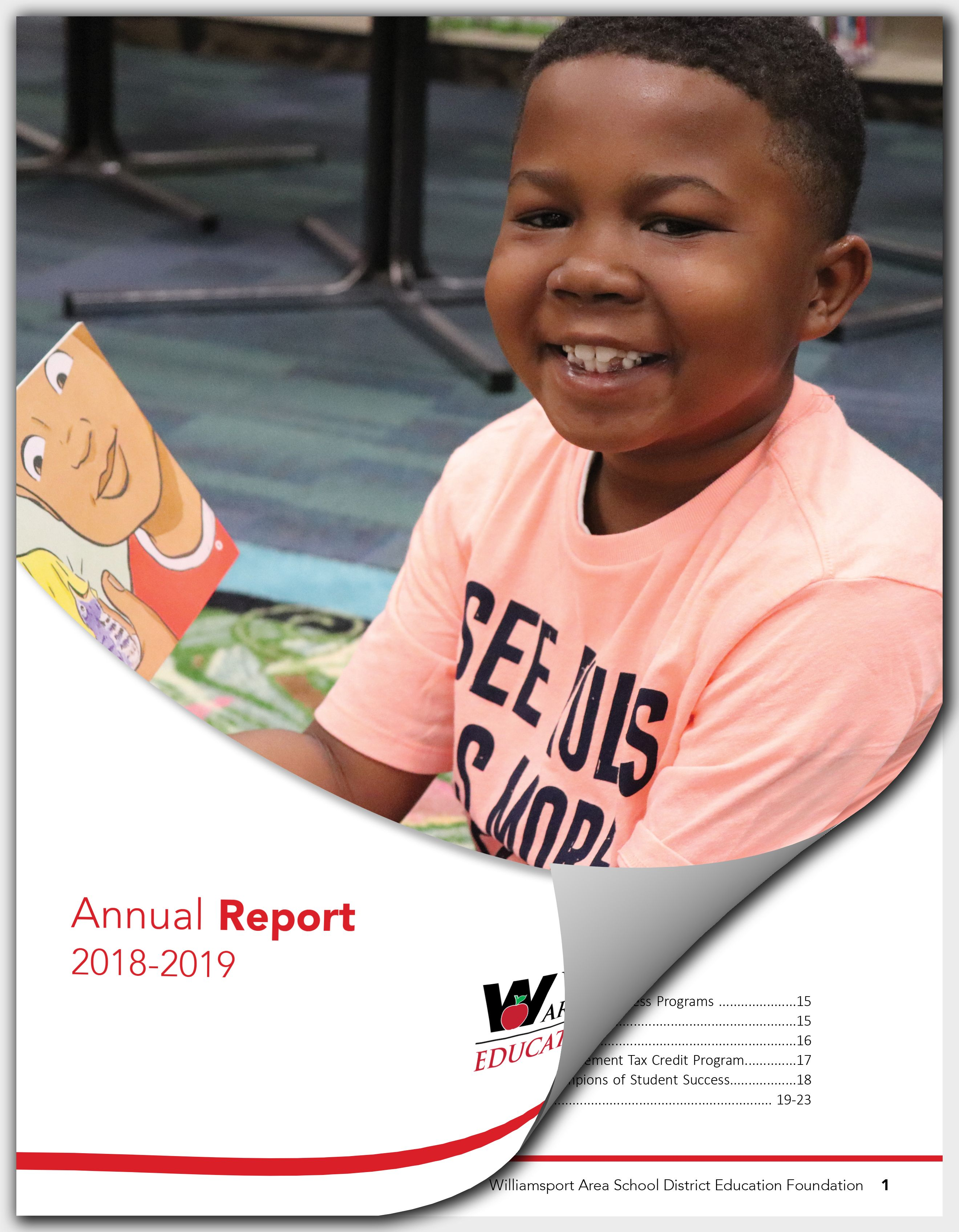 WASD Education Foundation Releases 2018-2019 Annual Report