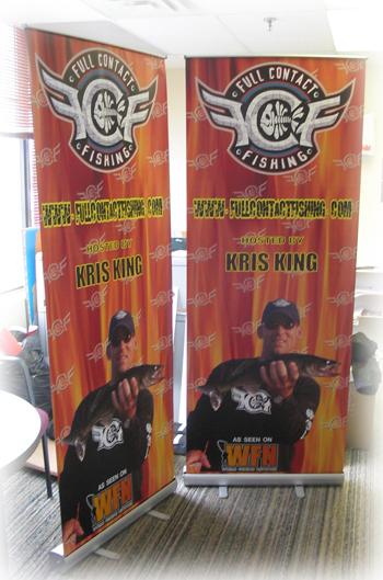 Kris King Banner Stand