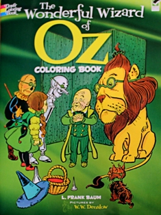 The Wonderful Wizard of Oz Coloring Book