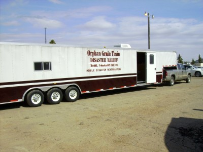 OGT Unit to be used at Hope Village for Minot, ND flood in 2011