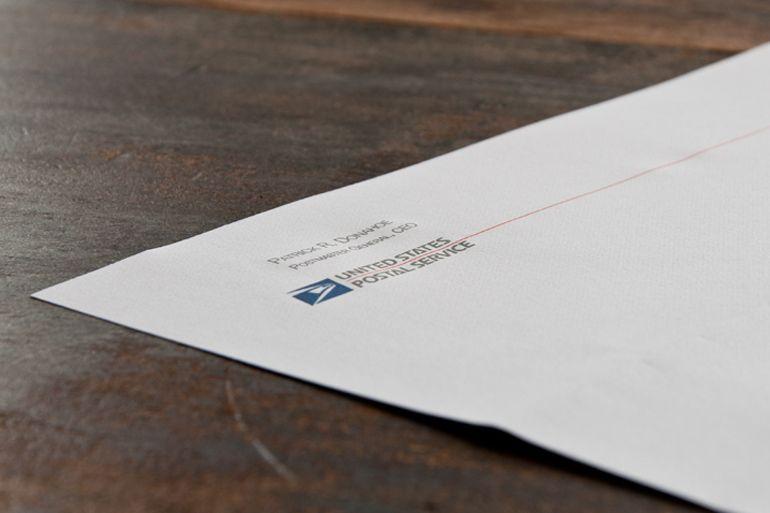 United States Postal Service Letterhead