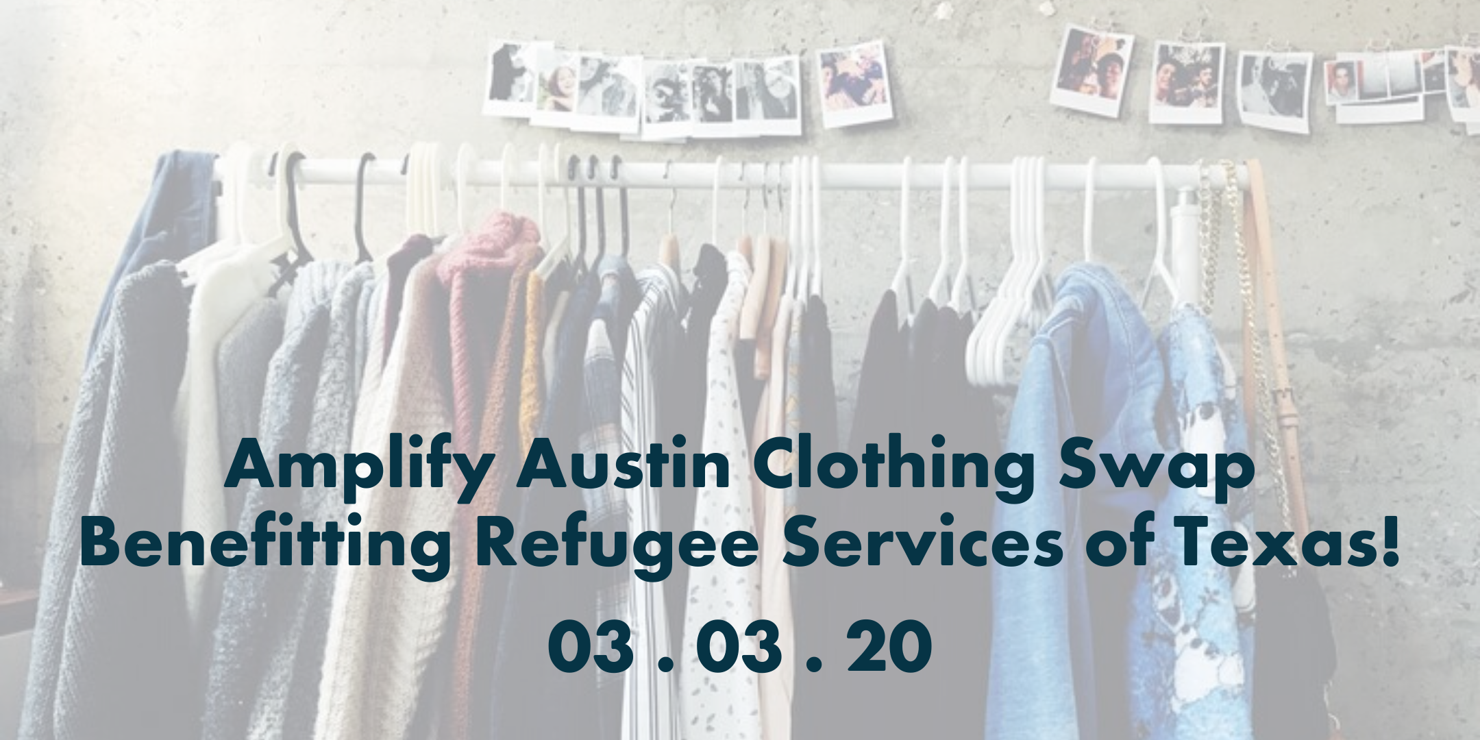 Organized for Good: Clothing Swap to benefit RST!