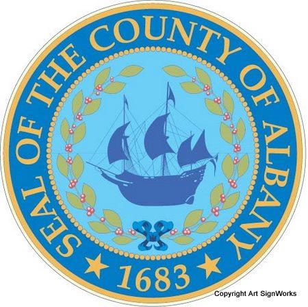 X33303 -  Seal of Albany County, NY.