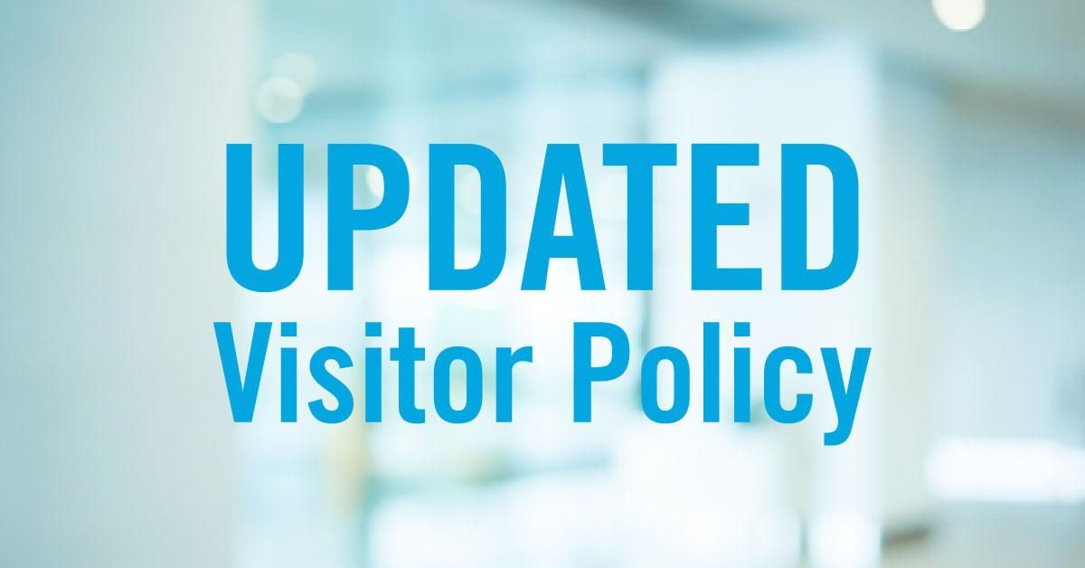 Visitor Policy During Pandemic
