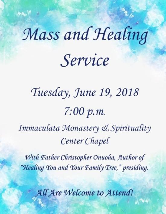 Mass and Healing Service