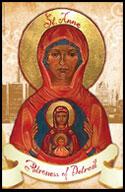 Saint Anne Patroness of Detroit Booklet- English