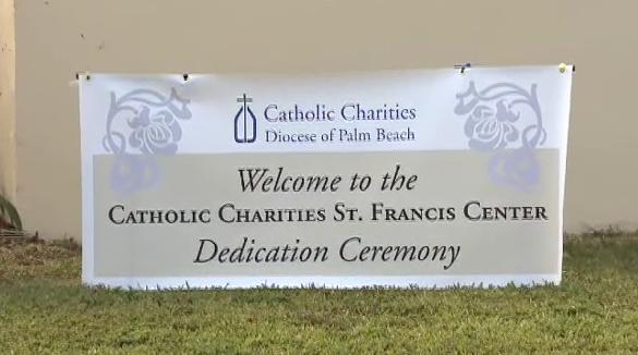 Dedication of Catholic Charities St. Francis Center