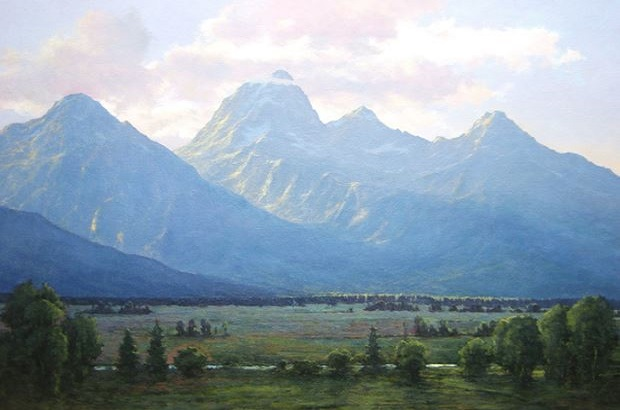 Oil Paintings by Lance Walker -- National & State Parks and Forests