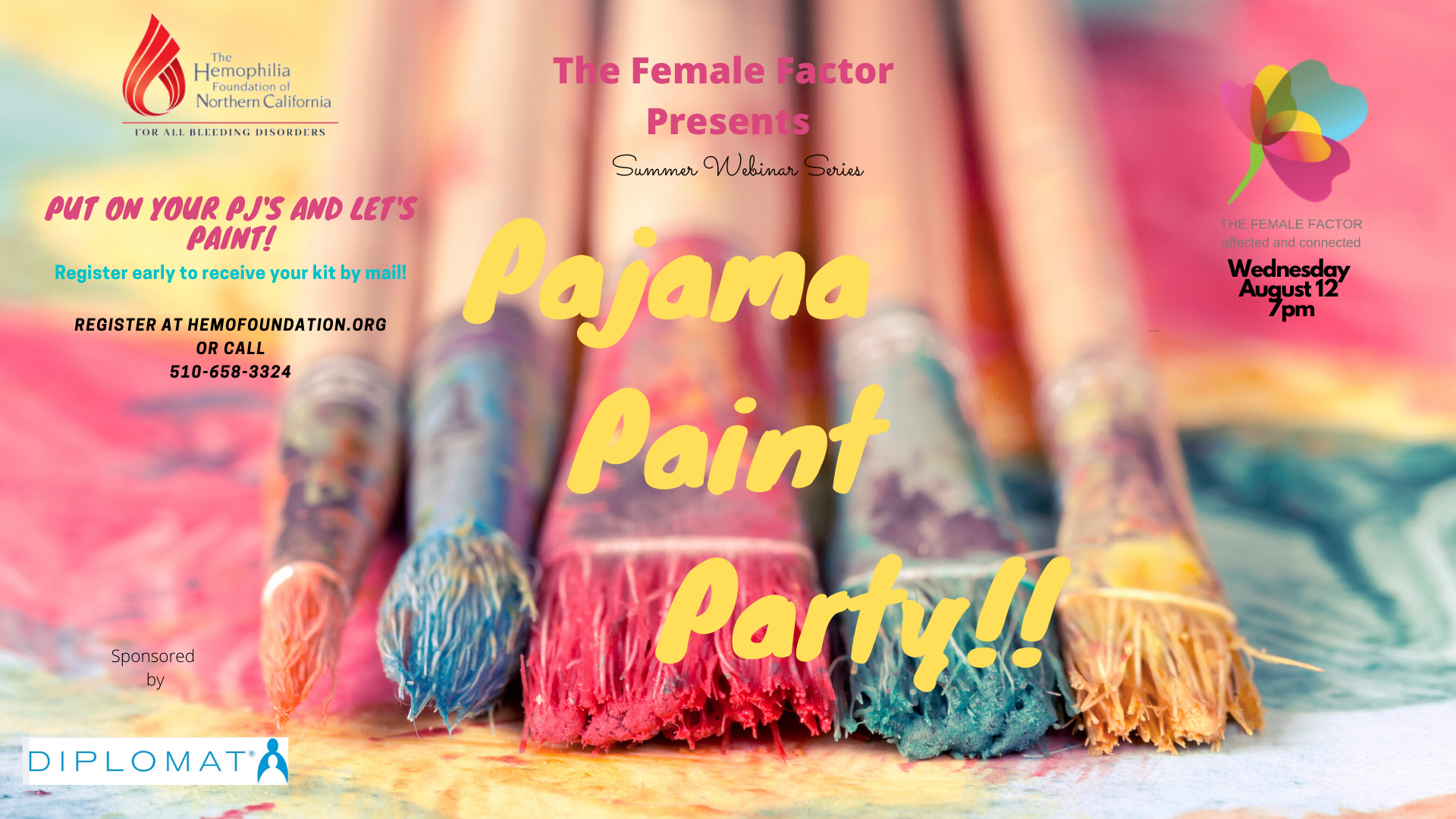 The Female Factor presents Pajama Paint Party!!!