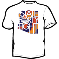 Donate $100 and receive a State Forty Eight Shirt!