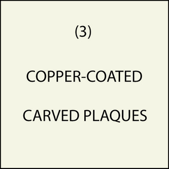 M7201 - (3). Copper-Coated Plaques