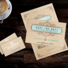 Brown Craft Business Cards