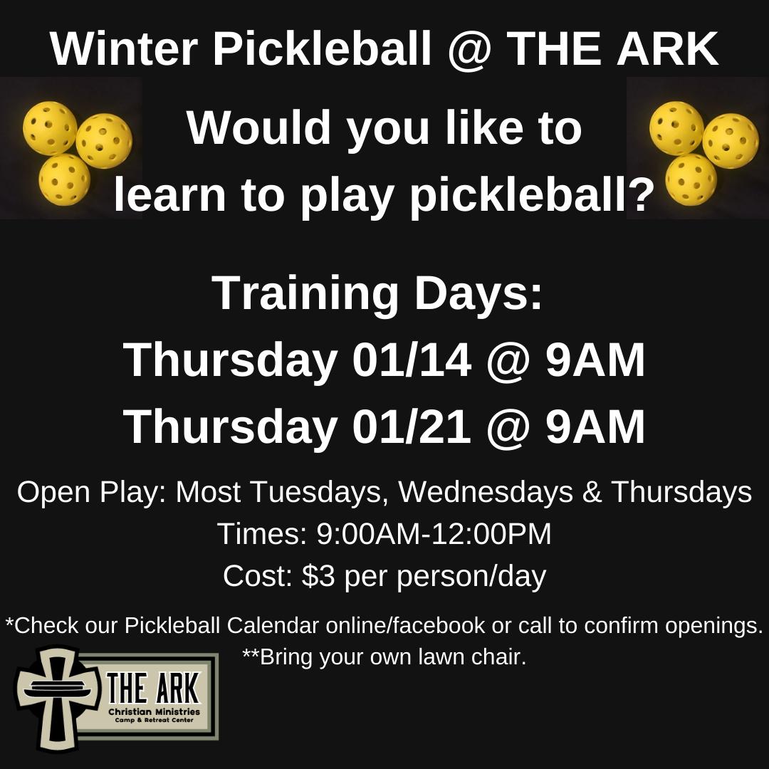 Pickleball Training