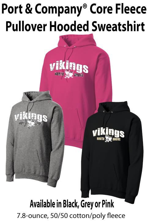 Vikings - Fleece Hooded Sweatshirt