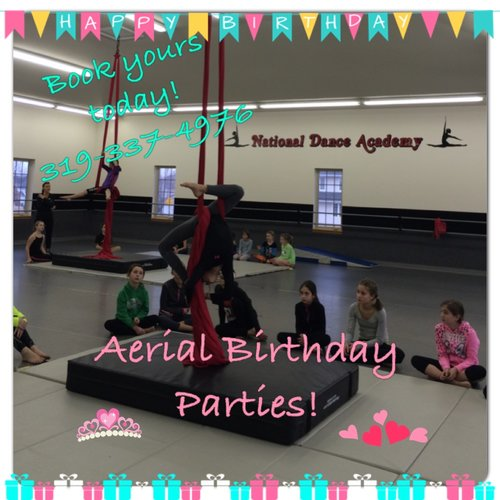 Aerial Birthday Parties