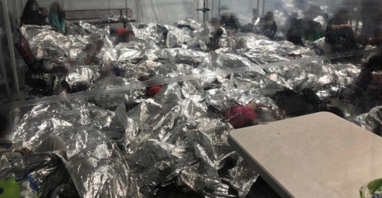 Piles of People: New Photos Show What Biden Is Trying to Hide at the Border