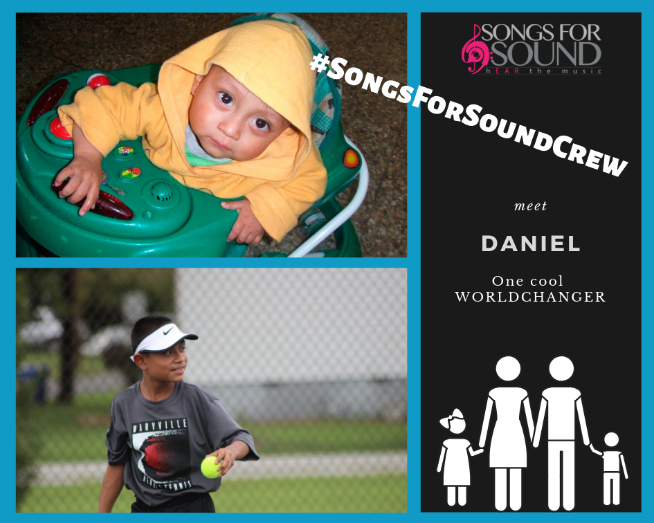 #SongsForSoundCrew's Latest Member: DANIEL