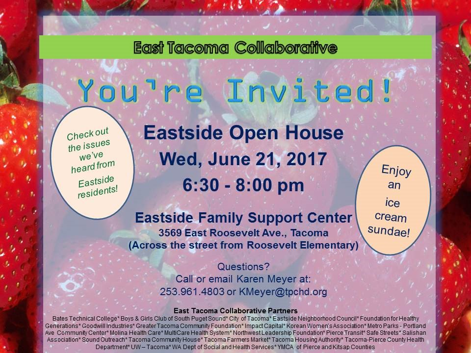 East Tacoma Open House