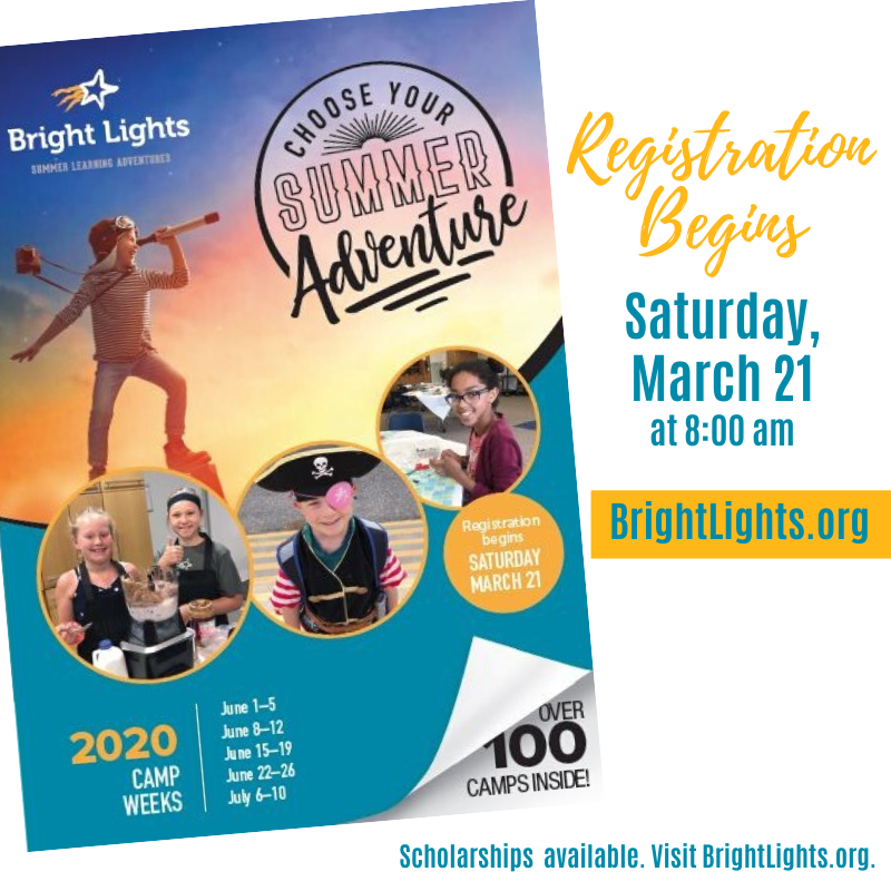 Get Ready: Registration Begins Saturday!