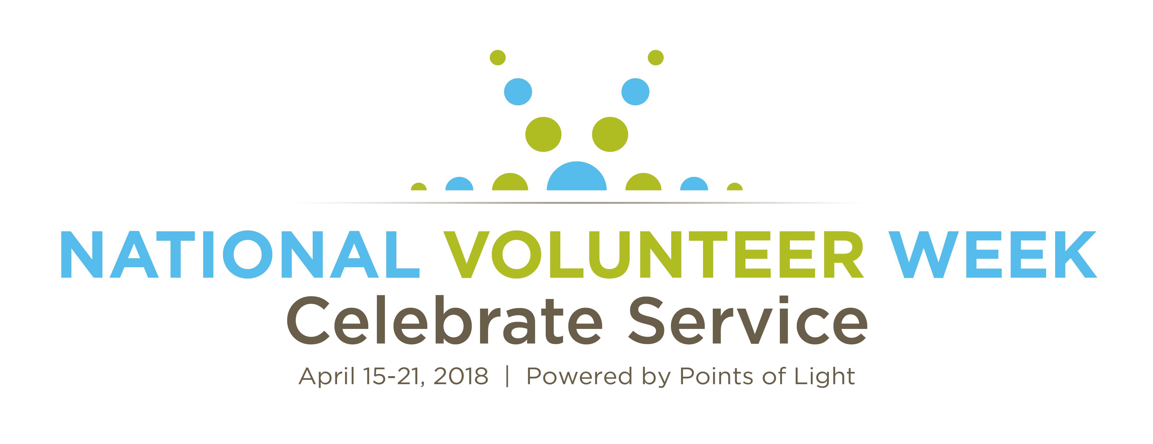 Celebrate National Volunteer Week