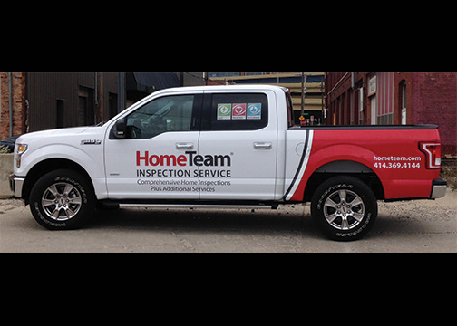 Home Team Truck Wrap