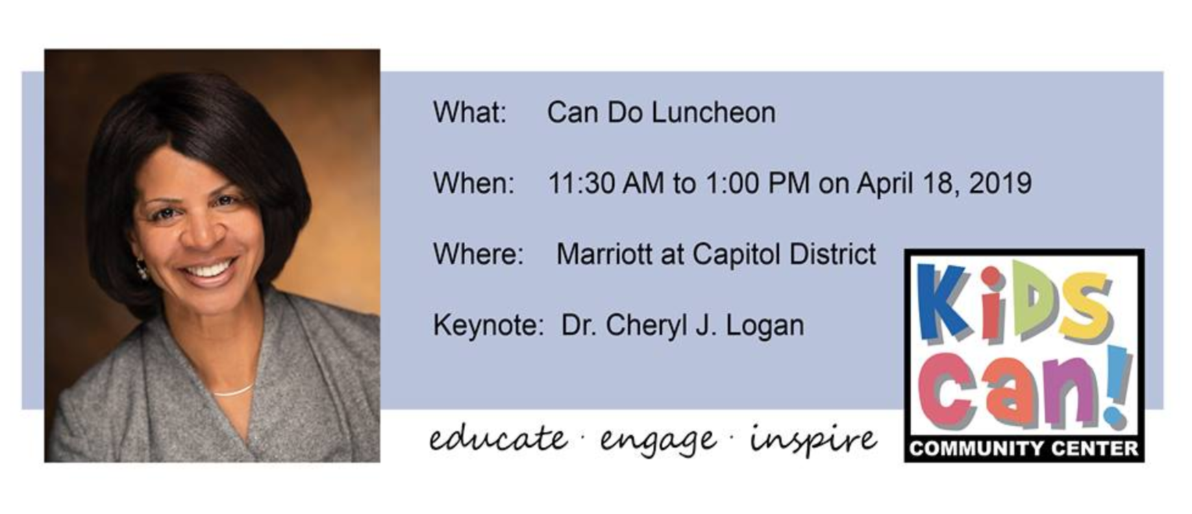 Join us at the Can Do Luncheon