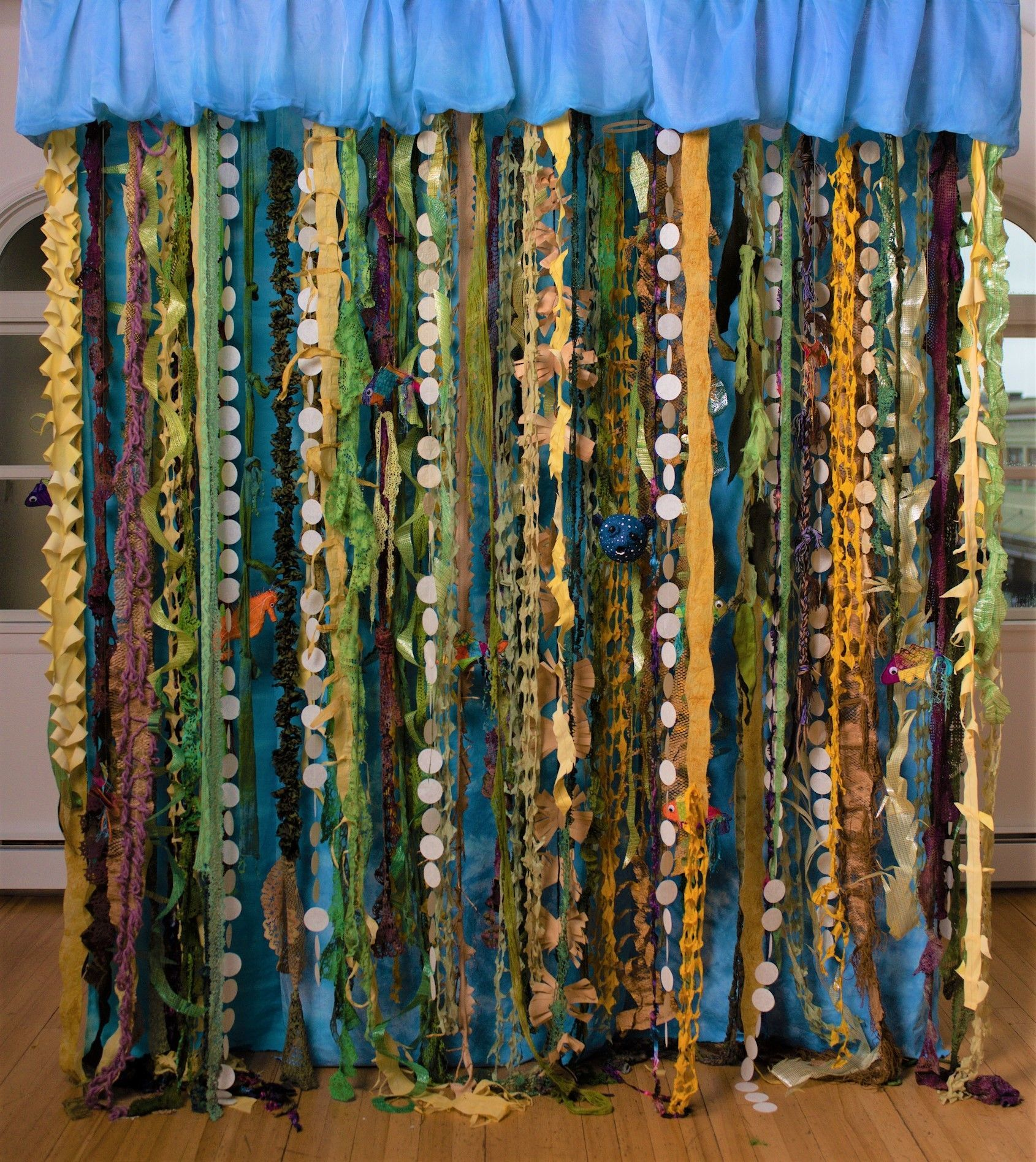 """Kelp Forest"" A collaborative installation"