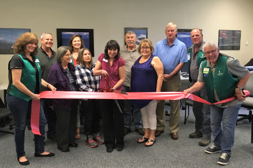 EChO Job Center New Member Ribbon Cutting for Evergreen Chamber of Commerce