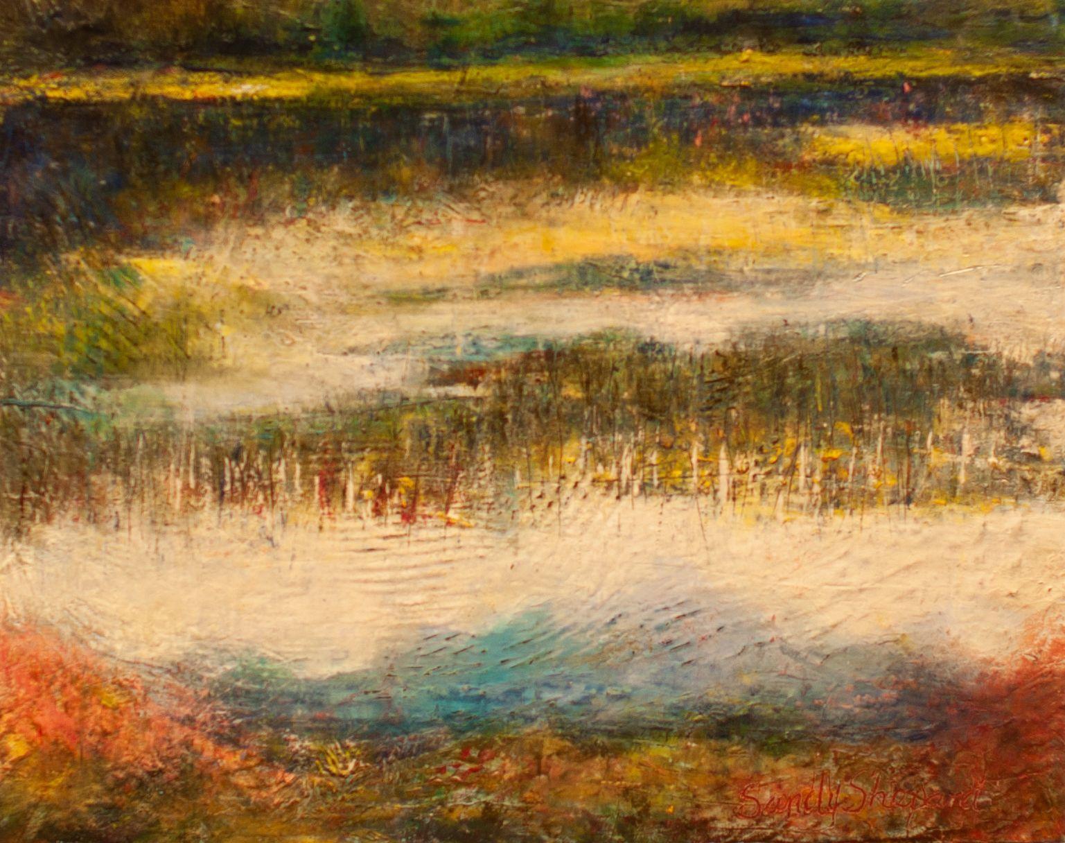 "Sandy Shepard - ""Ward Lake Reflections"""