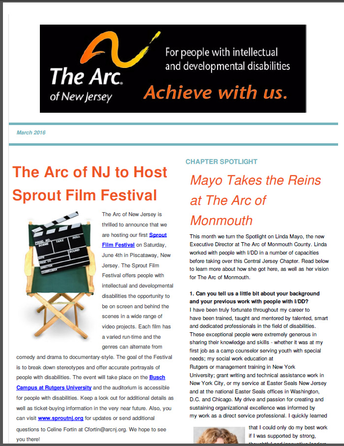 March E- Newsletter