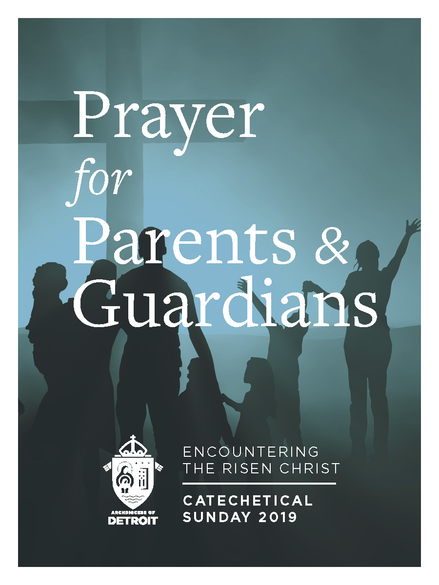 Catechical Sunday Prayer Card - Prayer for Parents & Guardians