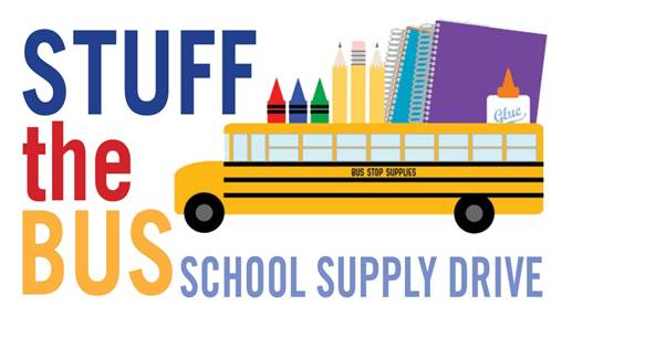 Stuff the Bus Drive happening now!