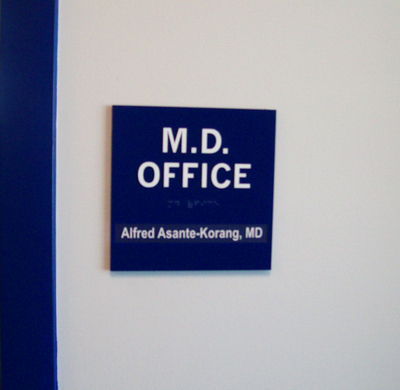 ADA Wall Sign 8