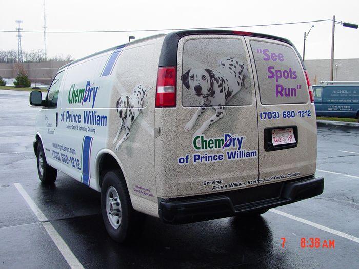 ChemDry Truck Graphics