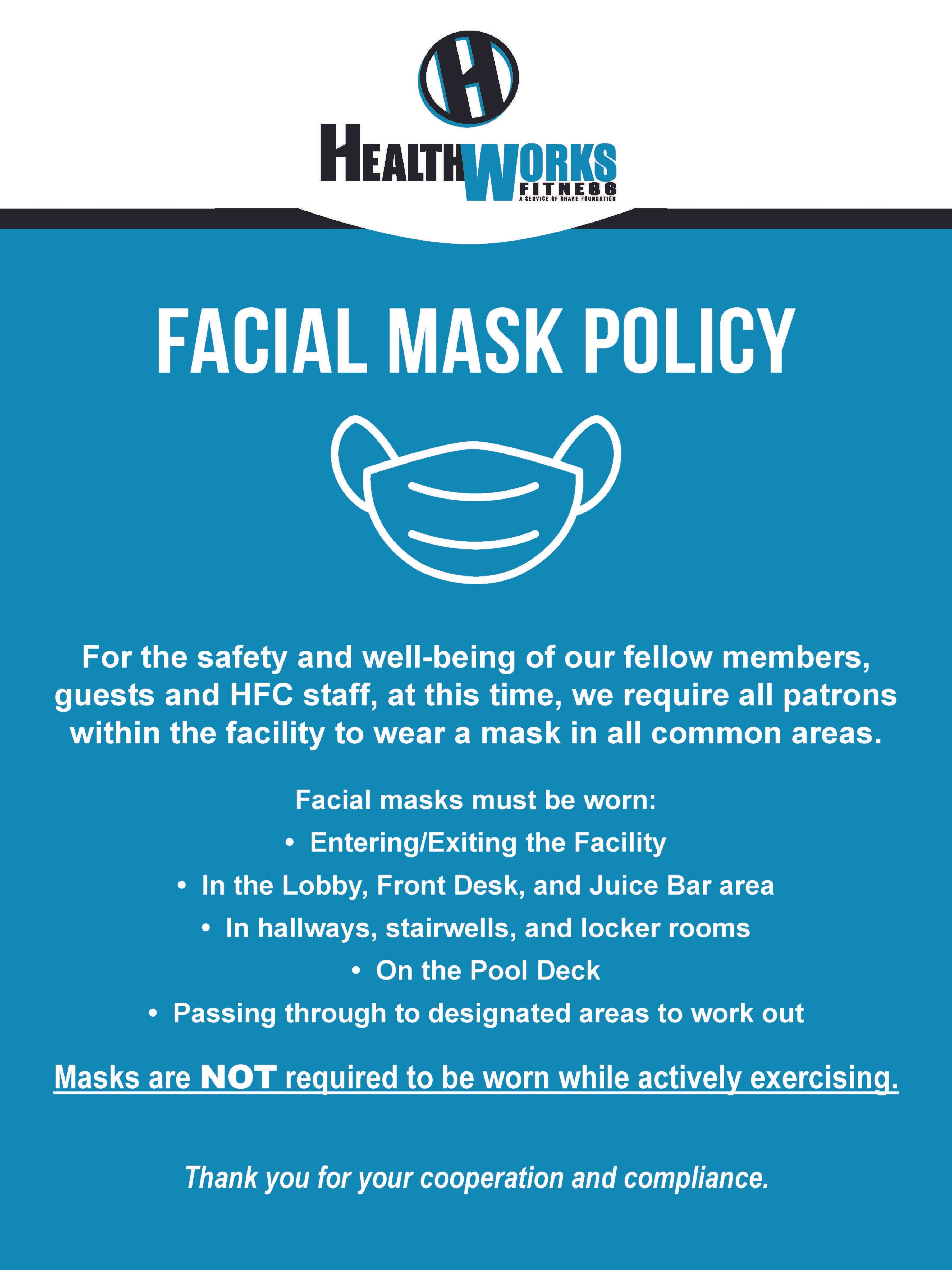 Face Mask Policy