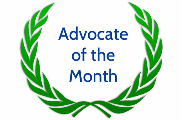 Advocate of the Month for November 2017