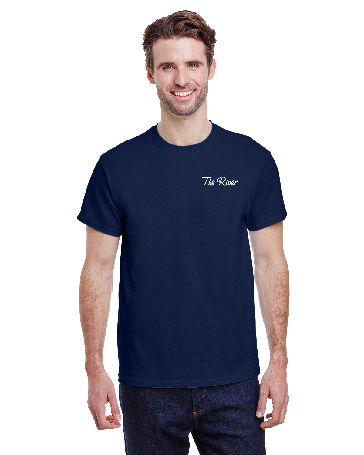 G200 Gildan Adult Ultra Cotton® 6 oz. T-Shirt Navy