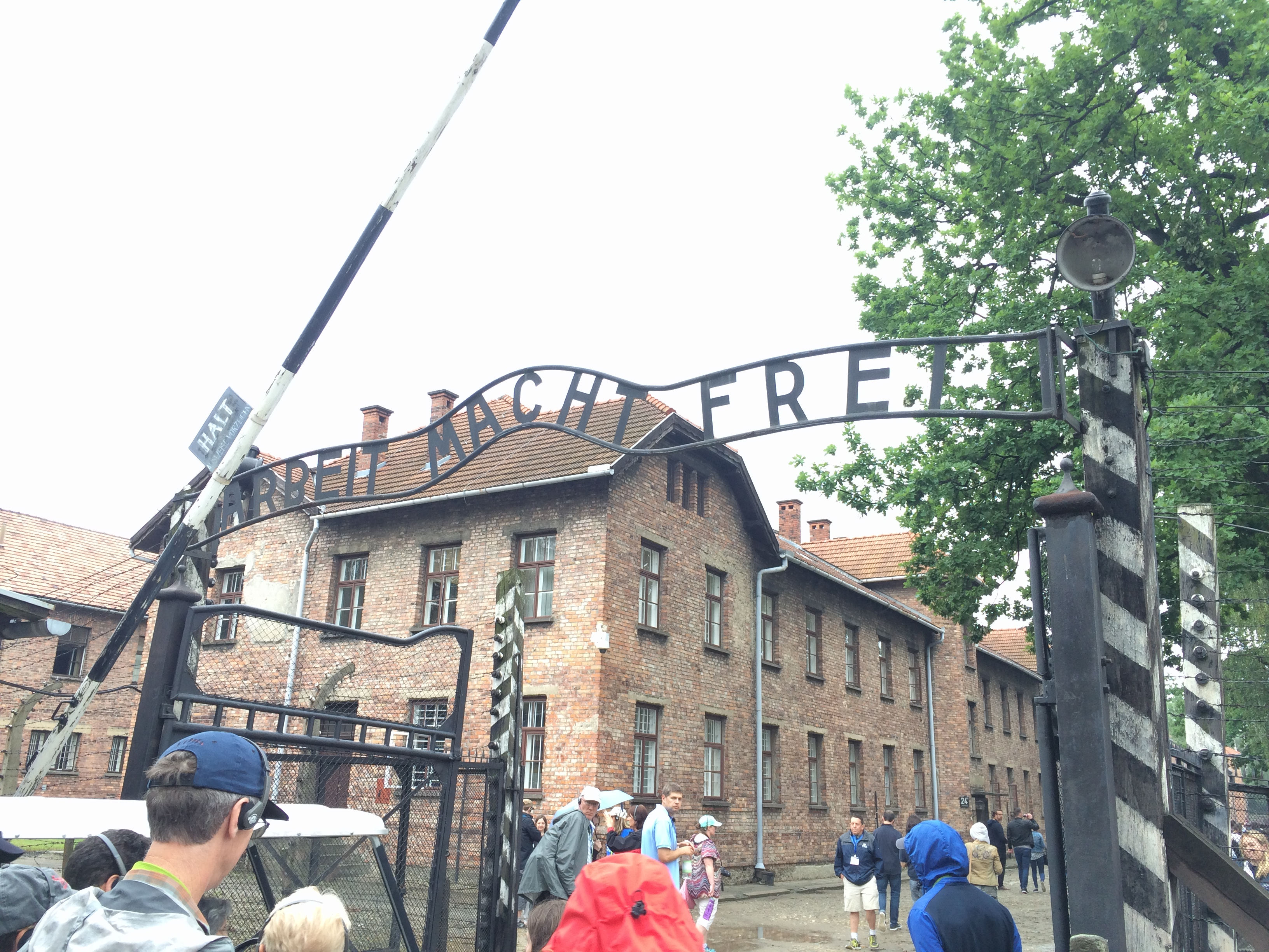 Entrance Gate to Auschwitz I