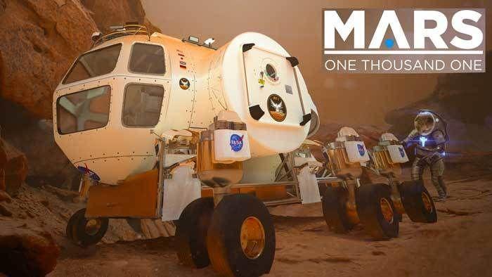 Mars 1001 Planetarium Show