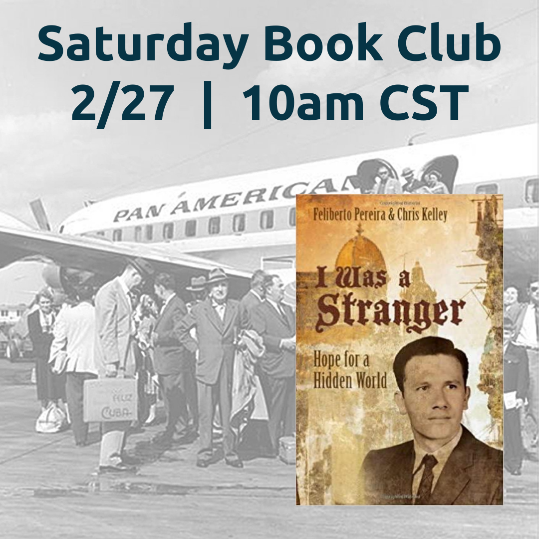 RST'S VIRTUAL SATURDAY BOOK CLUB: I Was A Stranger